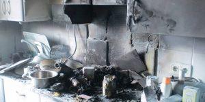 limpieza incendio cocina